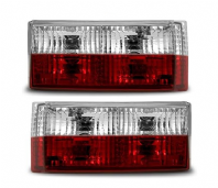 Mk1 Golf & Cabrio Crystal Red/Clear Rear Lights
